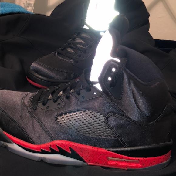 05e42fa3cdc Jordan Shoes | Air 5 Retro Satin Bred | Poshmark